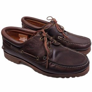 TIMBERLAND Leather Boat Shoes 30003